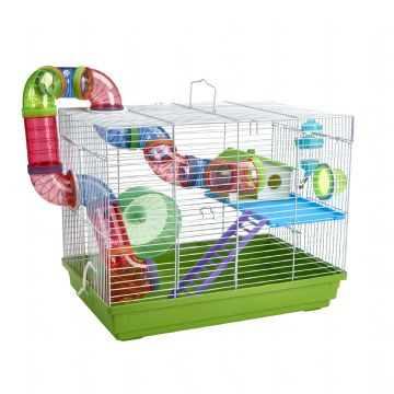 Pet Ting Green Peach Rodent Cage